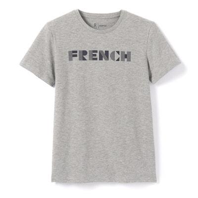 Camiseta estampada, cuello redondo, manga corta La Redoute Collections