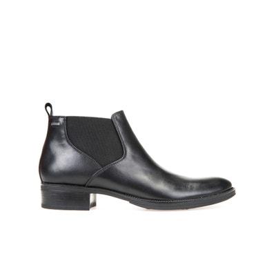 Mendi Leather Ankle Boots Mendi Leather Ankle Boots GEOX