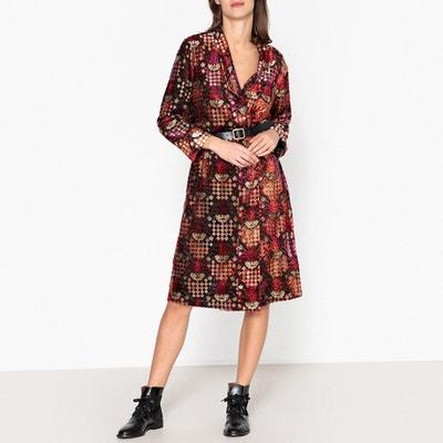Кимоно разноцветное из блестящей ткани деворе Кимоно разноцветное из блестящей ткани деворе THE KOOPLES