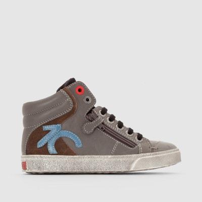 Zapatillas de caña alta con detalle de cremallera Custom Zapatillas de caña alta con detalle de cremallera Custom KICKERS