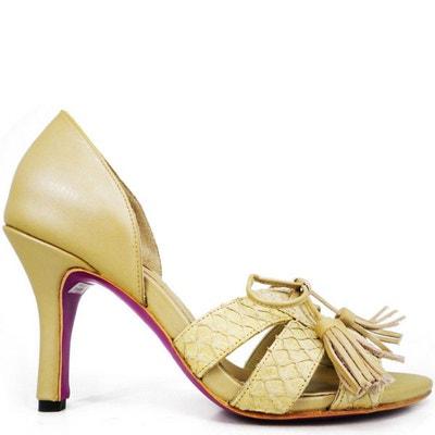 Chaussures femme en cuir jamie black  Pring Paris  La Redoute