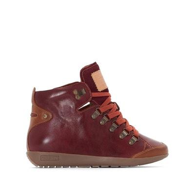 Hohe Ledersneakers