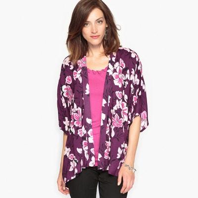 Printed Kimono Jacket ANNE WEYBURN