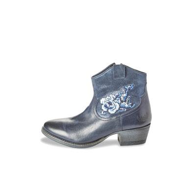 Vonka Leather Ankle Boots Vonka Leather Ankle Boots KAPORAL 5