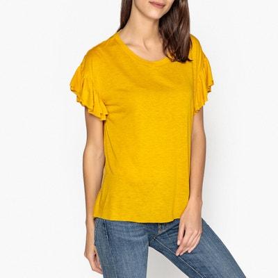 T-Shirt TORSADE aus gewaschener Seide T-Shirt TORSADE aus gewaschener Seide LEON and HARPER