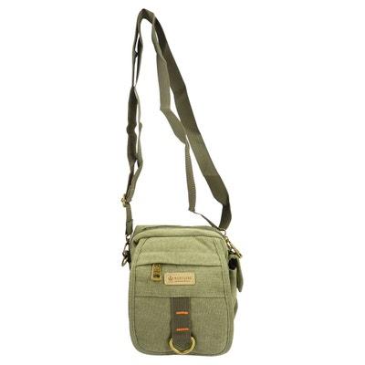 1baf14442dfbf Petite Sacoche pochette bandoulière porté épaule   ceinture en toile 15 x  16 cm Petite Sacoche