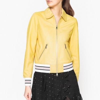 Vista Zip-Up Leather Jacket OAKWOOD
