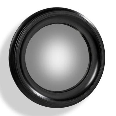 Espejo redondo Habel con marco negro de 60 cm de diámetro Espejo redondo Habel con marco negro de 60 cm de diámetro AM.PM.