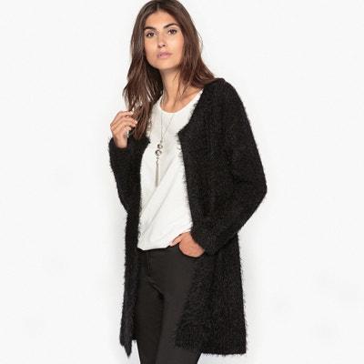 Long Tufted Knit Cardigan ANNE WEYBURN