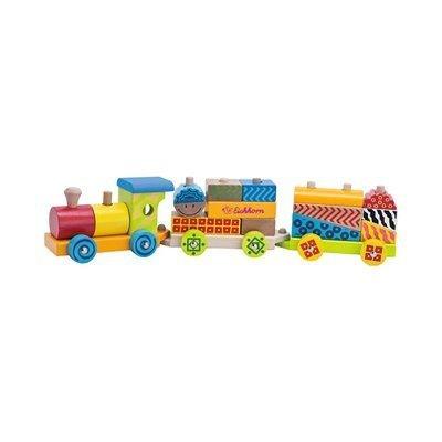 EICHHORN Petit train Color train en bois EICHHORN Petit train Color train en bois EICHHORN