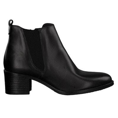 Boots cuir veau Pauletta Boots cuir veau Pauletta TAMARIS
