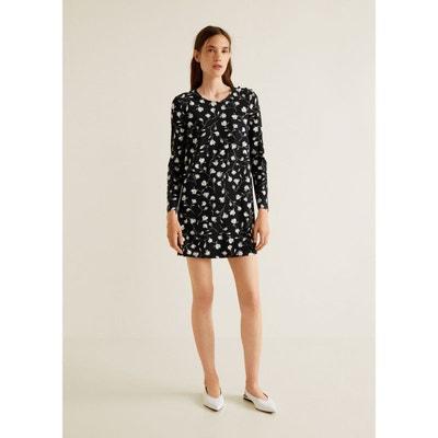 Robe courte blanche femme en solde   La Redoute 0636d9371834