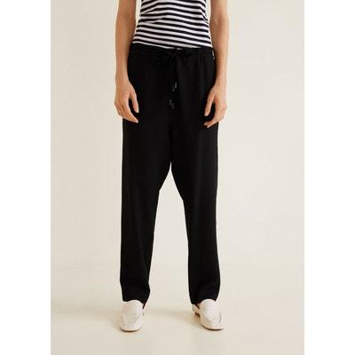 Pantalon baggy texturé MANGO