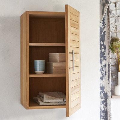elment haut modulable en bois de teck 40 soho elment haut modulable en bois de teck - Armoire Murale Chambre