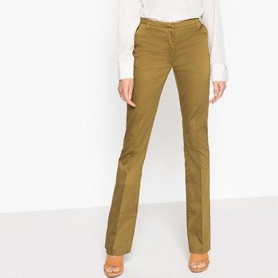 Pantaloni bootcut in satin di cotone Pantaloni bootcut in satin di cotone La Redoute Collections