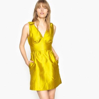 a6f7eefb3ff Robe jaune fleurie – Modèles populaires de robes