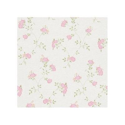 Papier Peint Rose Et Gris La Redoute