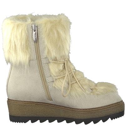 Badam Fur-Lined Boots TAMARIS