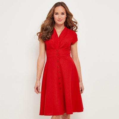 Платье-миди, 3/4, расклешенное, однотонное Платье-миди, 3/4, расклешенное, однотонное JOE BROWNS