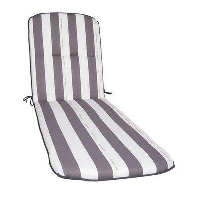Coussin Pour Chaise Longue De Jardin