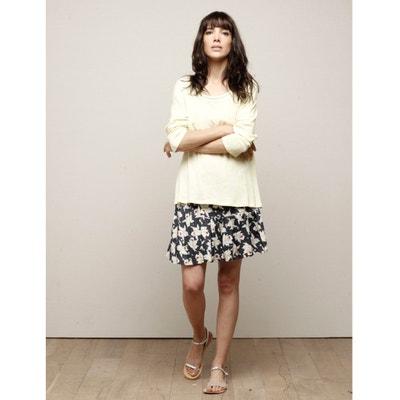 Short Floral Printed Full Skirt Short Floral Printed Full Skirt CHARLISE