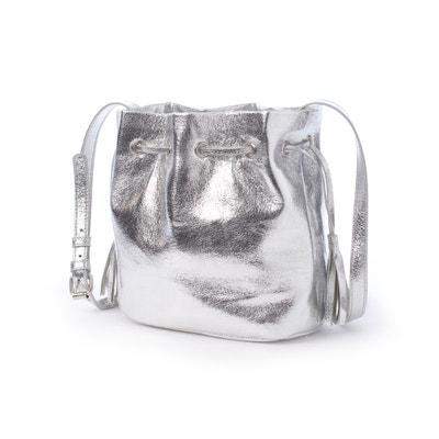 Handtasche, Beutelform, Metallic-Optik Handtasche, Beutelform, Metallic-Optik La Redoute Collections