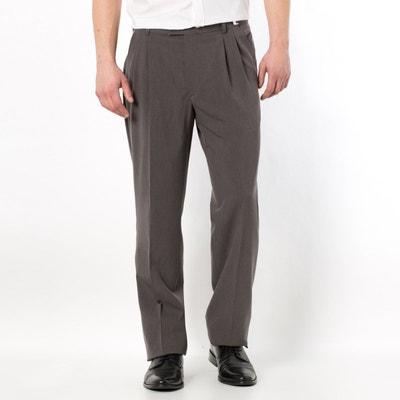 Weitenverstellbare Stretch-Hose mit Bundfalten CASTALUNA FOR MEN