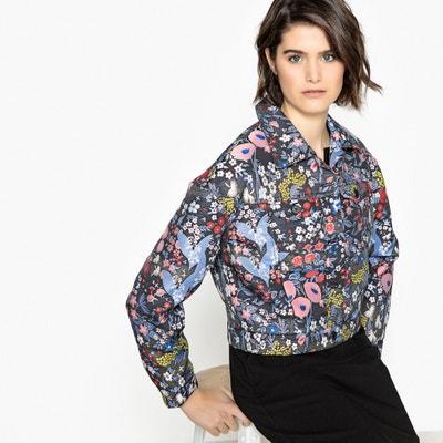 Floral Print Jacquard Jacket MADEMOISELLE R