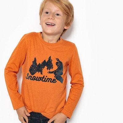 Camisola de mangas compridas, 3-12 anos Camisola de mangas compridas, 3-12 anos La Redoute Collections