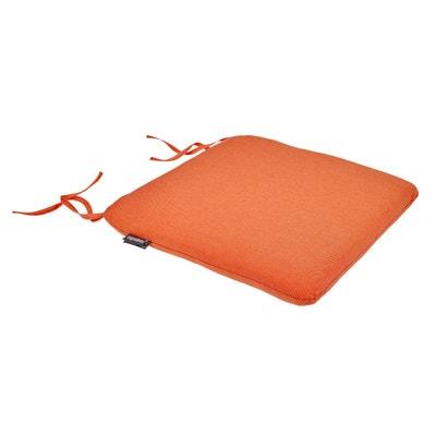 Galette chaise carrée déhoussable SUNAE (lot de 2) Galette chaise carrée déhoussable SUNAE (lot de 2) La Redoute Interieurs