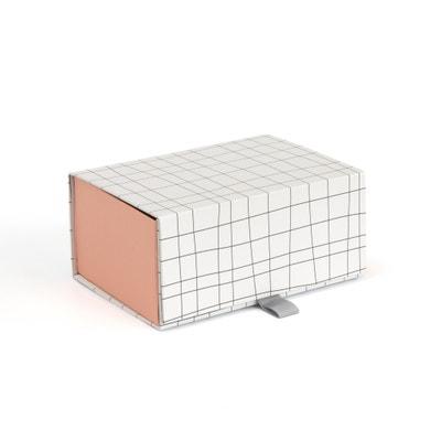Caixa dobrável, em cartão estampado, GIOMA Caixa dobrável, em cartão estampado, GIOMA La Redoute Interieurs