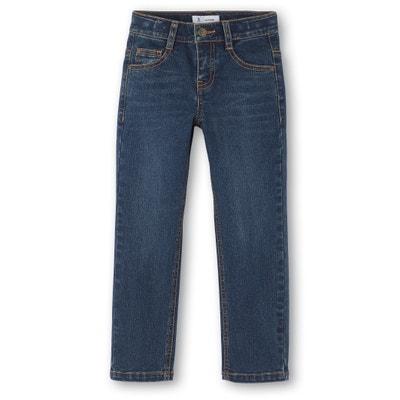 Jeans direitos, 3-12 anos Jeans direitos, 3-12 anos La Redoute Collections