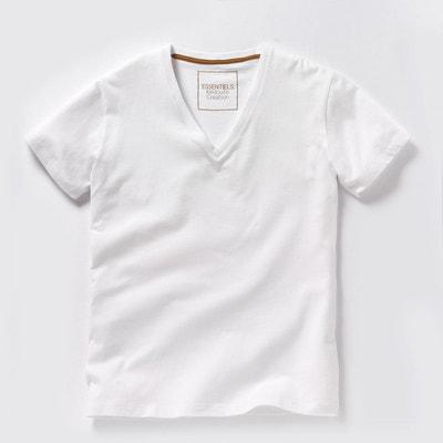 e0bb0462856d9 Tee shirt THEO col V profond Oeko Tex Tee shirt THEO col V profond Oeko  Tex. LA REDOUTE COLLECTIONS