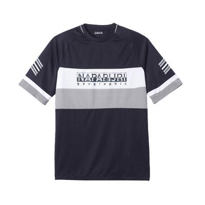 T-Shirt mit rundem Ausschnitt und Aufdruck vorne T-Shirt mit rundem Ausschnitt und Aufdruck vorne NAPAPIJRI
