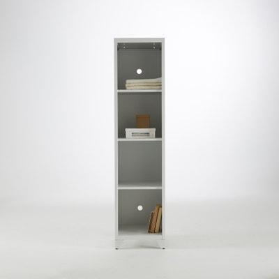 Hiba Metal Storage Unit with 4 Shelves Hiba Metal Storage Unit with 4 Shelves La Redoute Interieurs