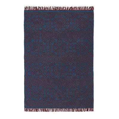 Tapete com tecelagem plana motivo kilim, em lã, Huzuro AM.PM.