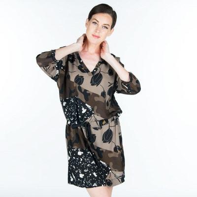 Robe avec liens à la taille POUSSIERE D ETOLE 2513991b735