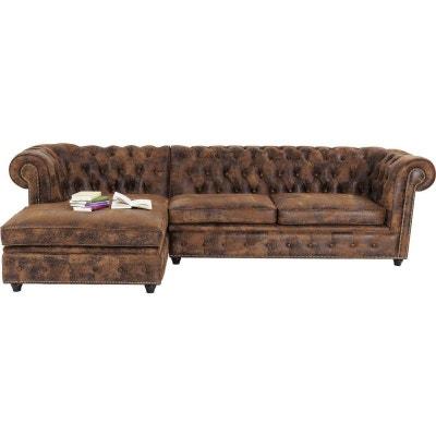 Canapé d'angle Oxford Vintage Rivet gauche Kare Design Canapé d'angle Oxford Vintage Rivet gauche Kare Design KARE DESIGN