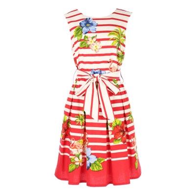 A-Linien-Kleid mit Blumenmuster RENE DERHY