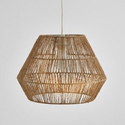 Abajur de teto em cânhamo natural, YAKU Abajur de teto em cânhamo natural, YAKU La Redoute Interieurs