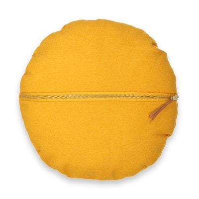 Круглая подушка из фетрина FELT Круглая подушка из фетрина FELT La Redoute Interieurs