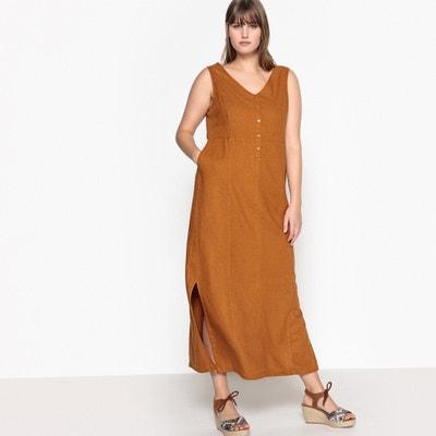 Vestido largo de lino Vestido largo de lino CASTALUNA