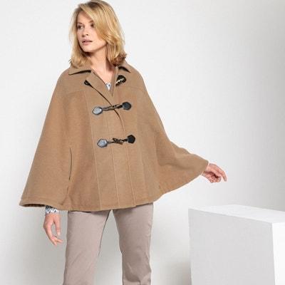 Manteau cape, fermeture zippée Manteau cape, fermeture zippée ANNE WEYBURN