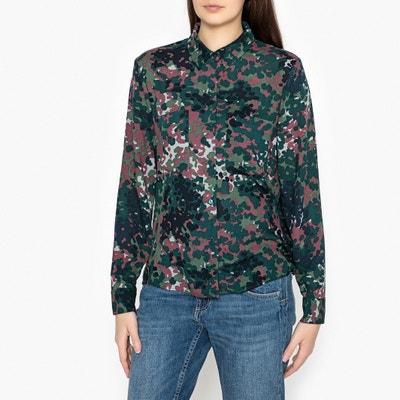 Milly Long-Sleeved Printed Shirt SAMSOE AND SAMSOE