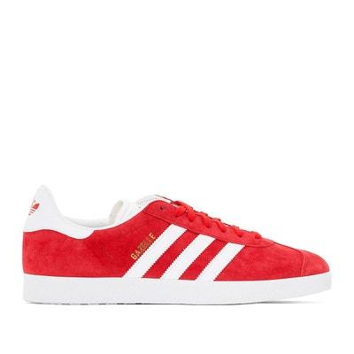 gazelle femme adidas rouge