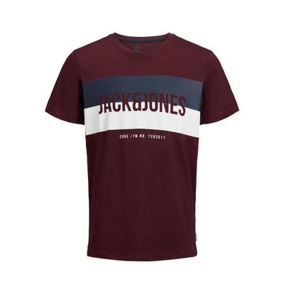 Short-Sleeved Crew Neck T-Shirt Short-Sleeved Crew Neck T-Shirt JACK & JONES
