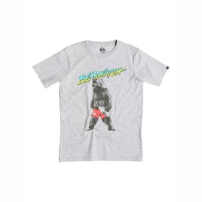 Printed Short-Sleeved T-Shirt, 8 - 16 Years Printed Short-Sleeved T-Shirt, 8 - 16 Years QUIKSILVER