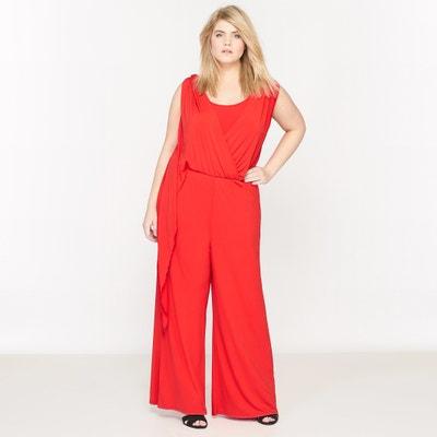 Combinaison pantalon sans manches en maille fluide CASTALUNA