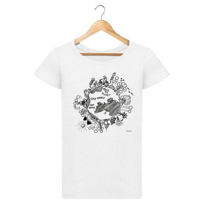 Tshirt Bio Femme - Save the planet Tshirt Bio Femme - Save the planet  ARTECITA c2931312c914