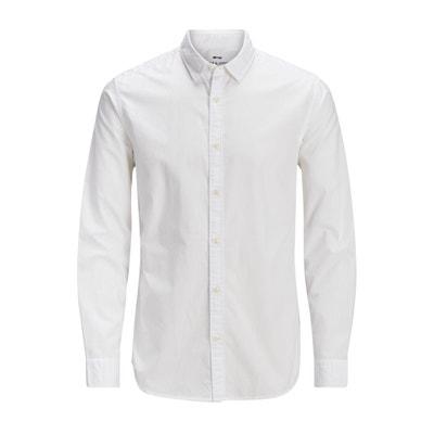 Long-Sleeved Printed Straight Shirt Long-Sleeved Printed Straight Shirt JACK & JONES